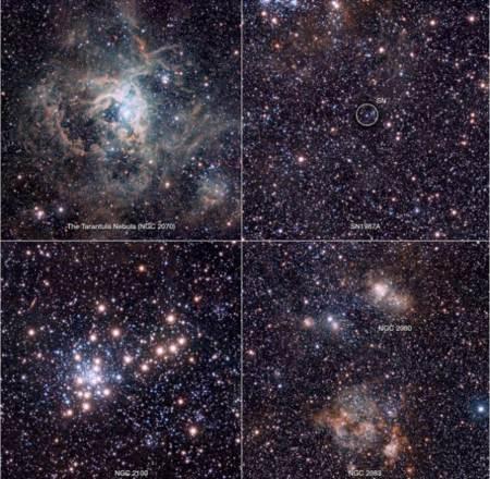 Imagenes de la nebula tarantula