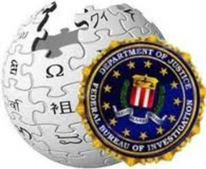 Logos de Wikipedia y el FBI