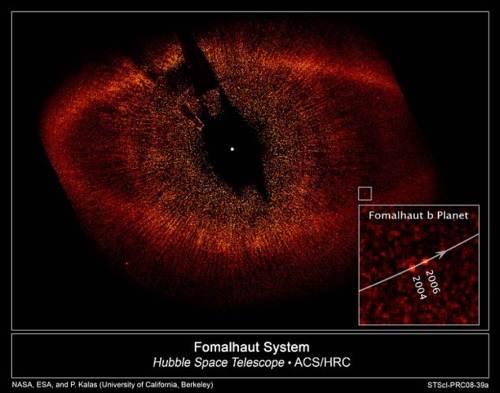 Sistema Fomalhaut de el telescopio Hubble