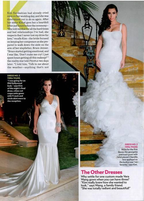 Vestido de novia de kim kardashian