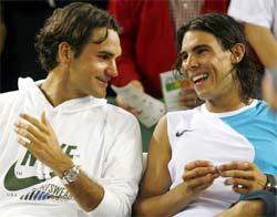 Rafa Nadal y Roger Federer, amigos, rivales y colegas