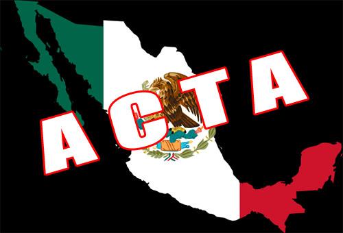 Mexico firmo la iniciativa ACTA