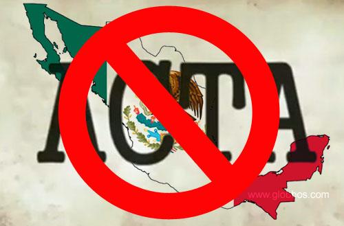 Rechazan ACTA en Mexico
