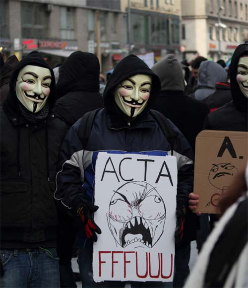 Razones para no aprobar ACTA