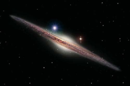 HLX-1, un agujero negro intermedio