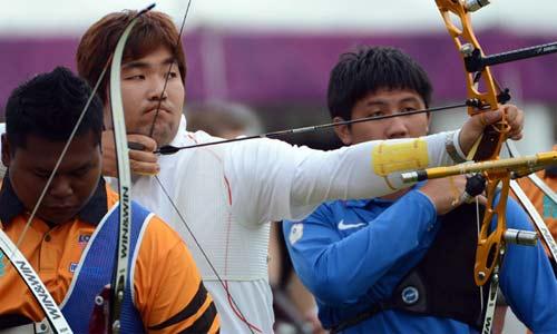 Arquero coreano ciego, el mejor de Londres 2012
