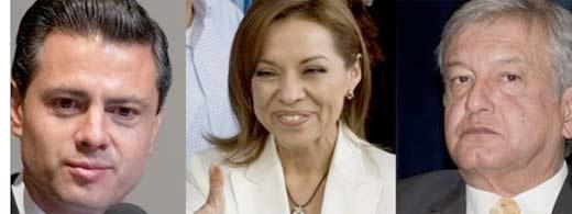 Encuestas de salida de candidatos a la presidencia México 2012 aparecen