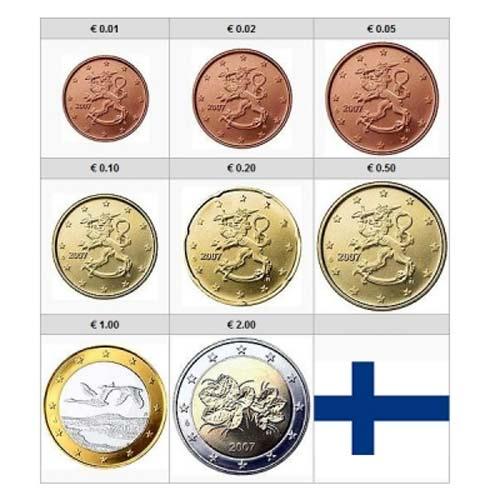 Nueva moneda de Finlandia