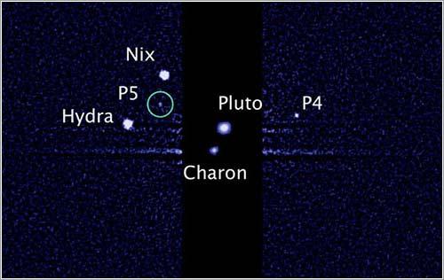 P5, nueva luna de Plutón