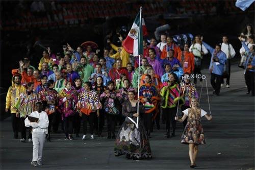 Equipo mexicano en las olimpiadas 2012