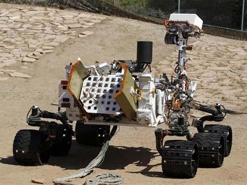 Robot Curiosity enviado a Marte