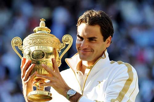 Roger Federer vence en Wimbledon 2012
