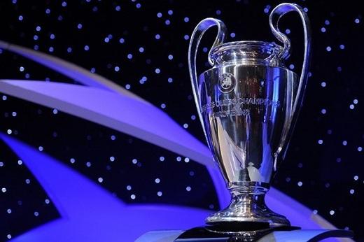 Concluyo el sorteo de grupos de la Champions League