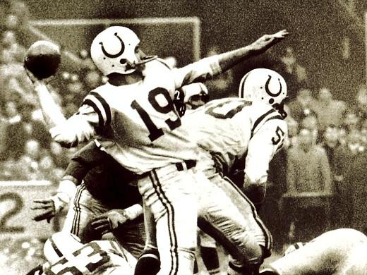 Johnny Unitas uno de los mejores QB de la NFL