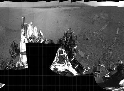 Imagenes del Curiosity explorando Marte