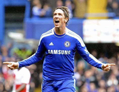 Delantero del Chelsea, Niño Torres enfretará al Atlético Madrid