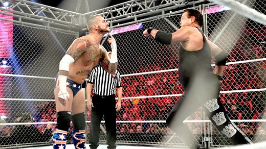 Steel Cage Match en RAW