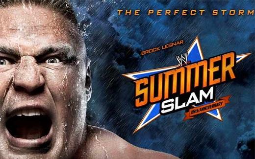 Brock Lesnar VS Triple H Summer Slam