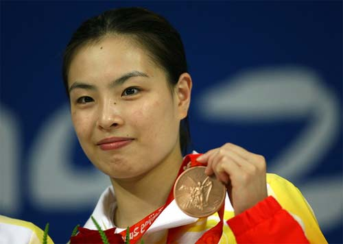 Clavadista china gana la medalla de Londres 2012