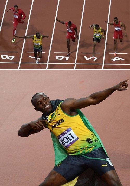 Usain Bolt gana medalla de oro