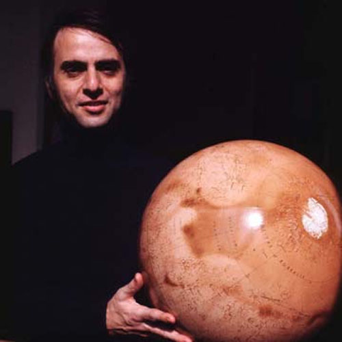 Carl Sagan y Marte