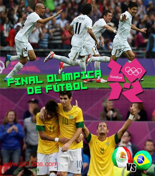 Final entre Mexico vs Brasil en Londres 2012