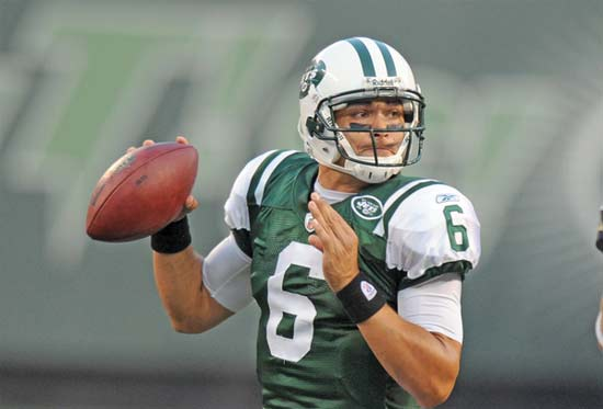 Esperan que Mark Sanchez logre 10 mejores en  NFL