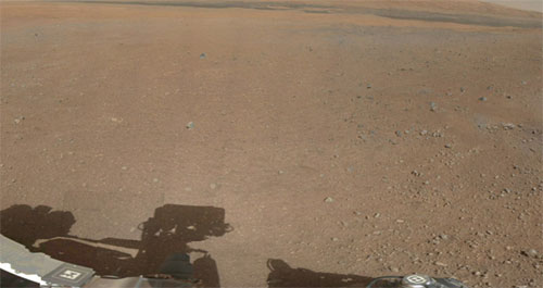 Foto de Marte a color