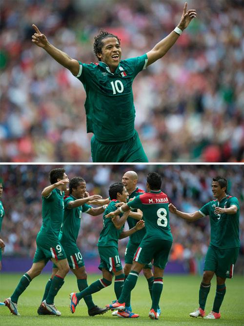Equipo de futbol mexicano pasa a la semifinal olimpica