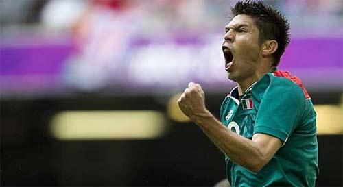 México contra Brasil 2012