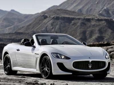 Lujo del Maserati GranCabrio MC