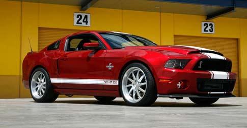 Presentan al Mustang Shelby GT500 Super Snake 2013