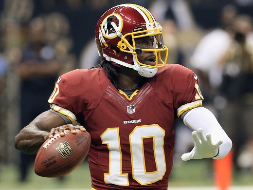 QB Rookie Robert Griffin III