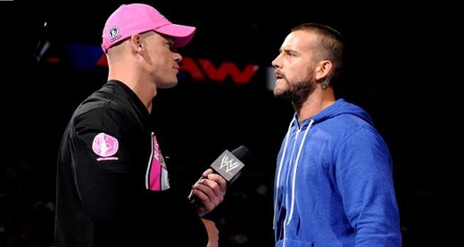 John Cena VS CM Punk en RAW