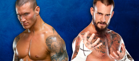 Randy Orton VS CM Punk