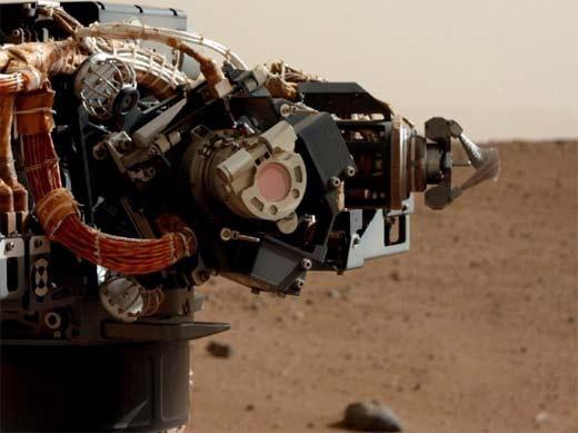 Serie de fotografías del Curiosity en Marte