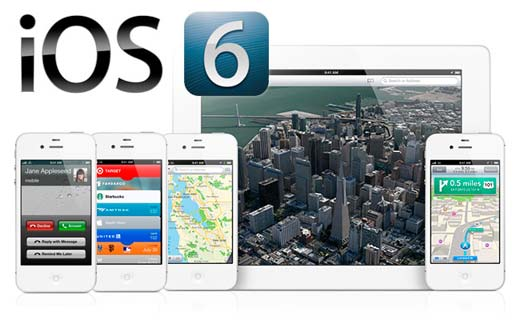 Apple ofrece sistema iOS 6