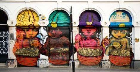 The Big Art Mob quiere hacer un listado de obras de graffiti del mundo