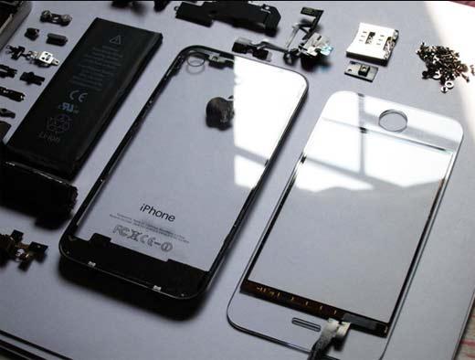 Análisis de costo sobre piezas del iPhone 5