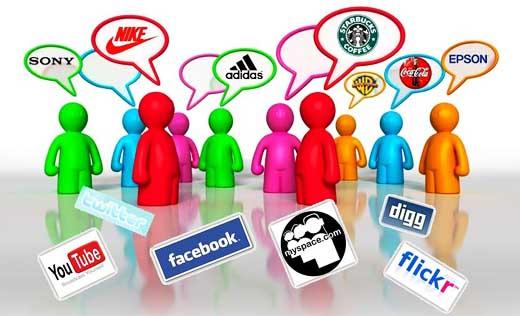 Influencia de las redes sociales sobre los consumidores.