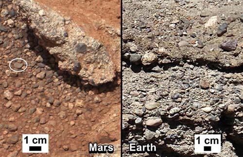 Explorador Curiosity encuentra rocas de agua