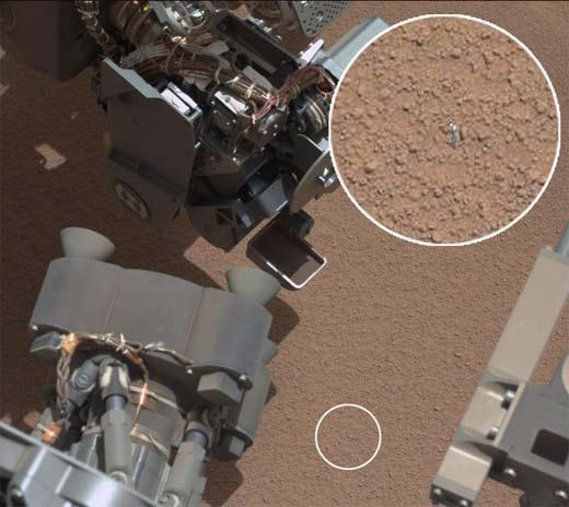 Objeto brillante llama atención de misión Curiosity