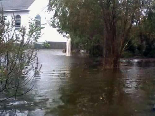 Telecomunicaciones interrumpidas por huracan Sandy