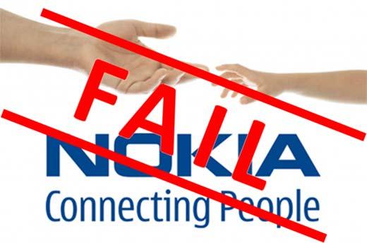 Ventas de Nokia a la baja
