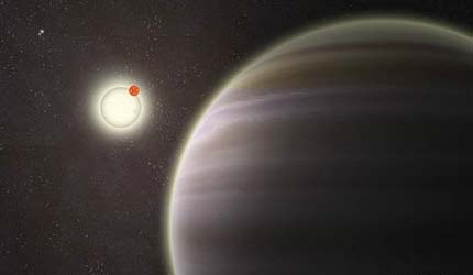 Descubren planeta con cuatro soles