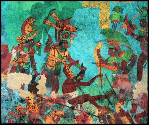 Cambio climático derribó a los mayas