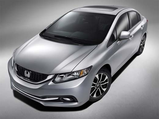 Debut del Honda Civic 2013