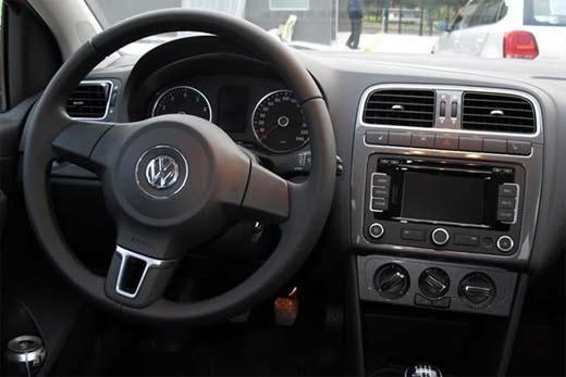 Asientos con calefacción en Volkswagen Polo 2013