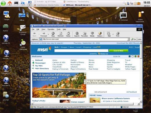 Navegador Internet Explorer 10