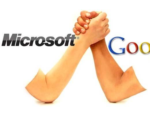 Demanda por pantentes de Googe a Microsoft